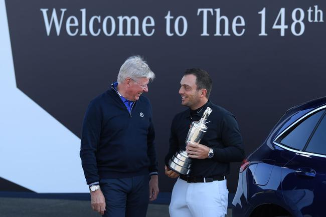 莫里纳利归还葡萄酒壶 英国公开赛卫冕概率不高