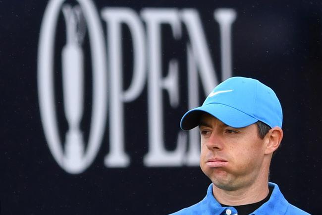 麦克罗伊英国公开赛开局不顺