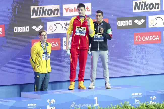 国际泳联警告霍顿无礼行为称孙杨听证会前不评论
