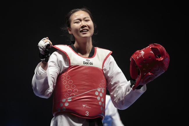 中国跆拳道名将张梦宇(资料图)