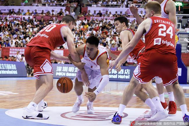 今天這支克羅地亞隊讓我們見識到了中國男籃與歐洲球隊之間的實力差距