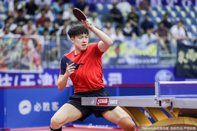 王楚欽:第一次進全錦賽決賽 對陣削球手是大考驗