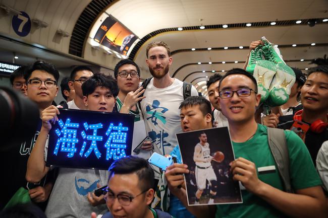 """NBA绅士型男空降北京 海沃德中国""""型""""火热来袭"""
