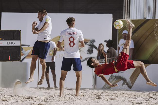 中国队参加比赛