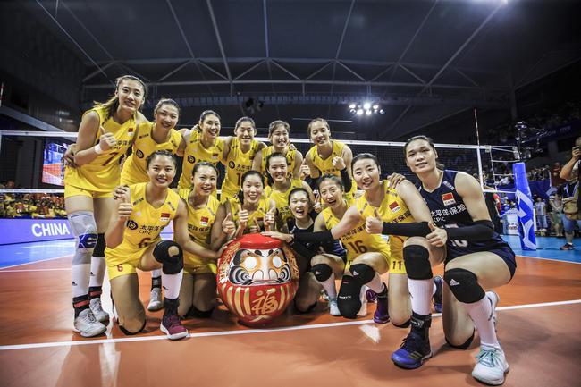 中国女排已经获得东京奥运会入场券