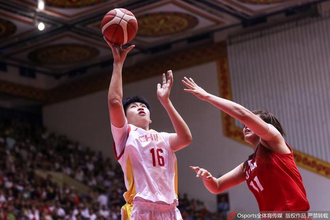 熱身賽-邵婷砍16+6 中國女籃大勝日本兩連勝