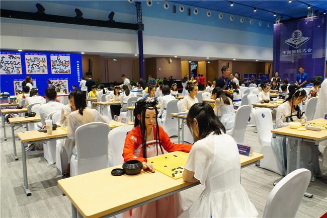 妇女界围棋外演赛