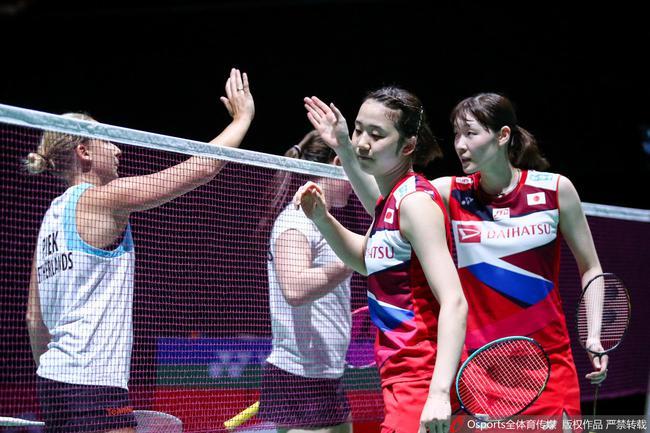 羽毛球世锦赛女双头号种子仅丢15分强势晋级16强