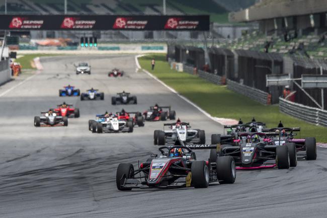 国际汽联亚洲三级方程式锦标赛公布2020年赛历