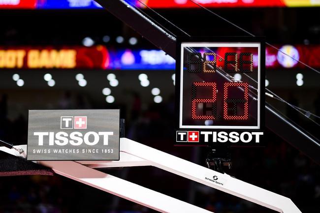 图3-4:TISSOT天梭表24秒计时器战计时计分体系