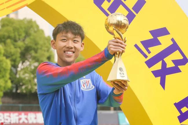 申花U19B队长金顺凯:偶像博格巴 5年后冲击一线队