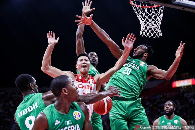 中国男篮结束世界杯之旅
