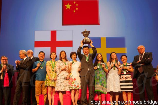 标兵:世界桥牌团体锦标赛前瞻 中国队参赛历史