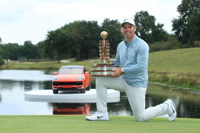 卡西赢得个人第14个欧巡赛冠军