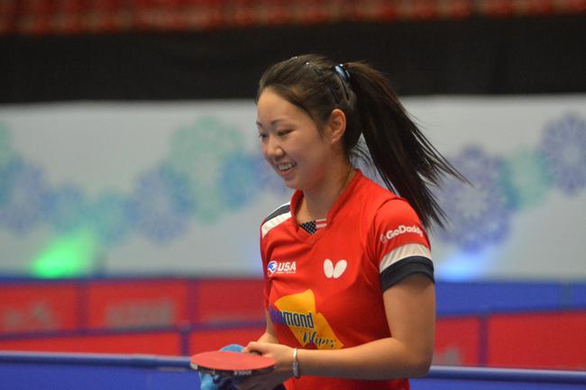 乒乓球泛美洲锦标赛 张安手握四项冠军成大赢家