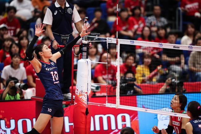 世界杯李在英金软景合揽48分 韩国拦网17-3日本