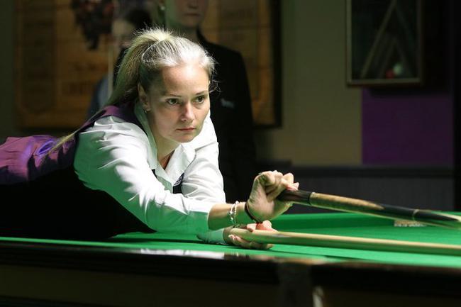 女子斯诺克英锦赛落幕 女皇埃文斯决赛4-2夺冠