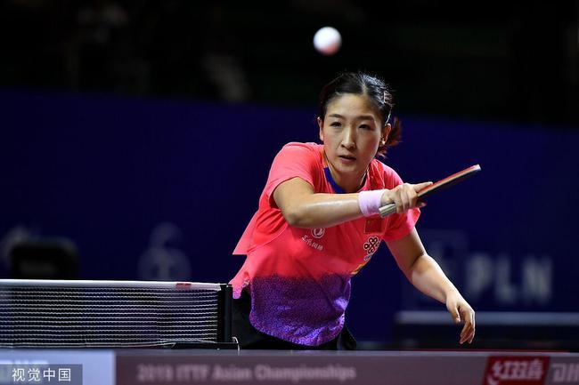 乒乓球亚锦赛刘诗雯3-1苏慧音 与丁宁陈梦晋级