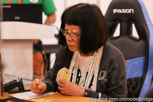 标兵:世界桥牌团体锦标赛 中国老年队三连胜回归