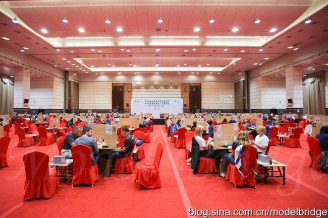标兵:世界桥牌团体赛预赛第二天 中国女队登顶