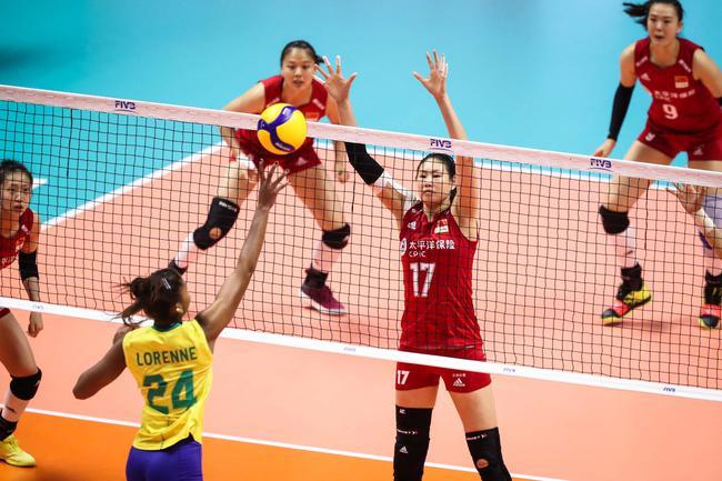 危机!世界杯中国女排1-2巴西 19-14领先被逆转