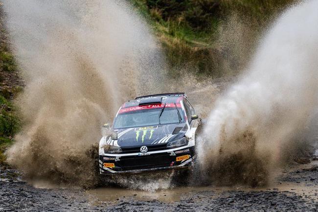 皮特-索伯格获得WRC2组别冠军