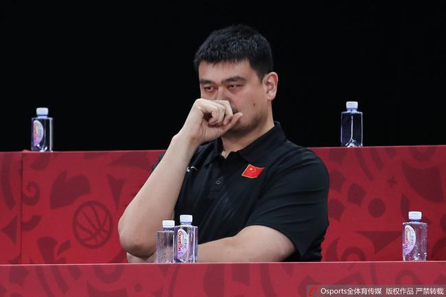 姚明接受《环球时报》专访