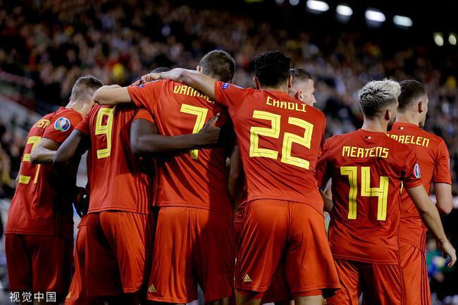 首支2020年欧洲杯参赛队诞生!比利时7战全胜晋级
