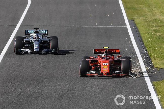 FIA赛事总监:法拉利被勒令召回勒克莱尔