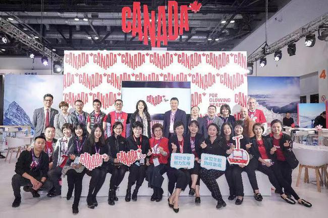 加拿大旅游局参加冬博会 展现别