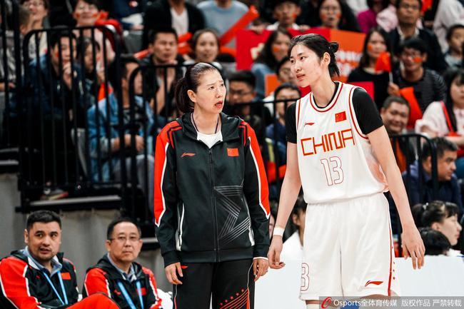 中国女篮进入决赛
