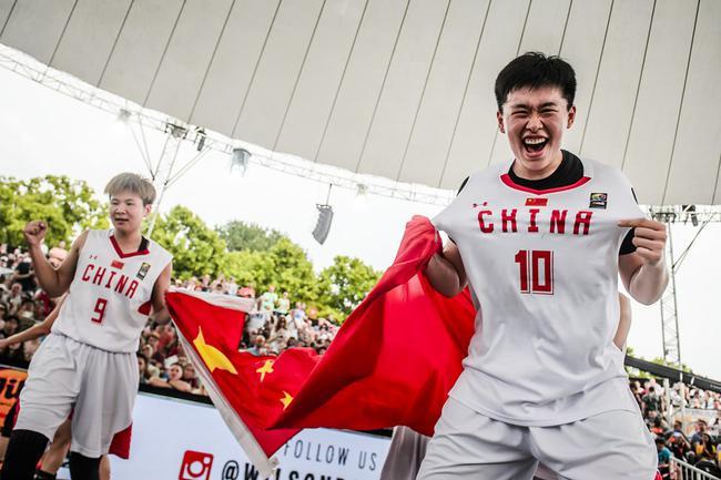 中国3X3女篮战绩:世界杯冠军积分排名全球第2