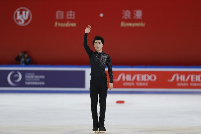 花滑中国杯金博洋首夺男单冠军 闫涵亚军张鹤第九