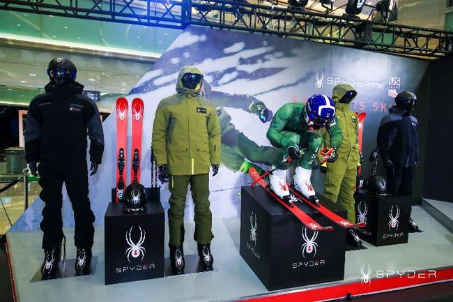 SPYDER品牌官宣正式进军中国 推动中国冰雪产业新里程