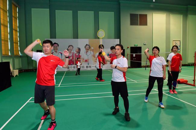 王仪涵教授打高远球技巧