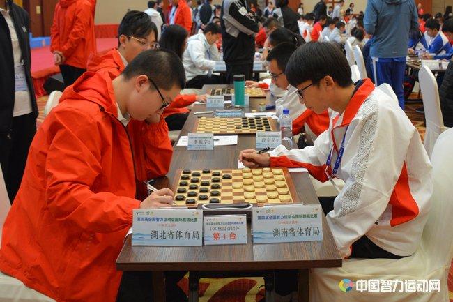智运会国际跳棋奖牌榜:湖北5金3银居首 上海3金