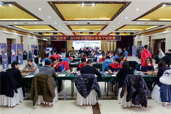 国象联赛第17轮上海重庆皆战平 北京收获二连胜