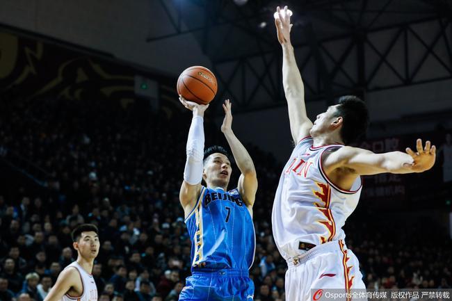 姜伟泽26分林书豪22+6 北京负吉林两连败