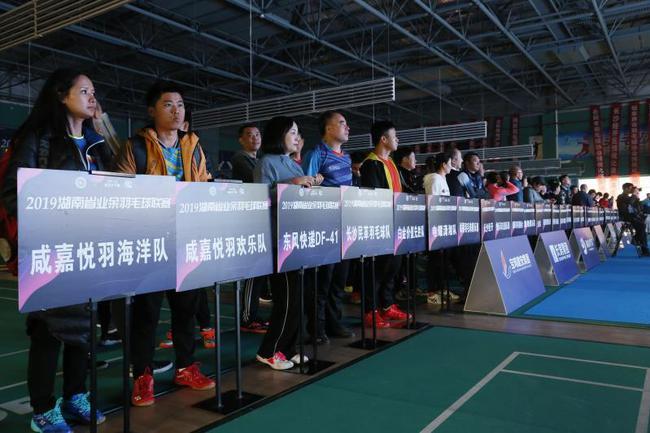2019年湖南省业余羽毛球联赛长沙