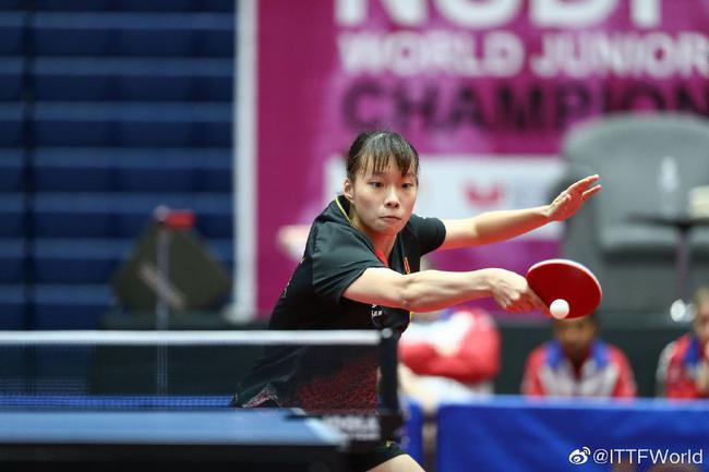 乒球世青赛中国女团3