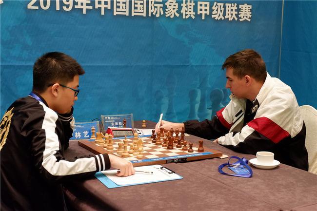 国象联赛上海队夺冠在望 杭州宏达提前三轮降级