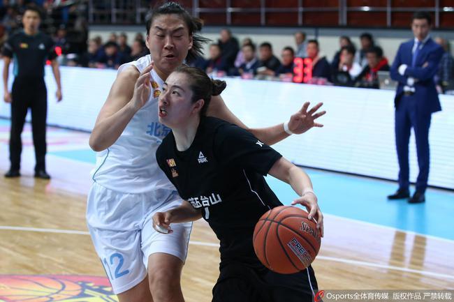 WCBA第10轮-坎贝奇38分山西胜陕西 北京胜江苏
