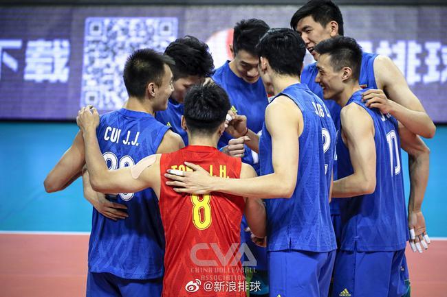 中国男排本土出战奥运资格赛