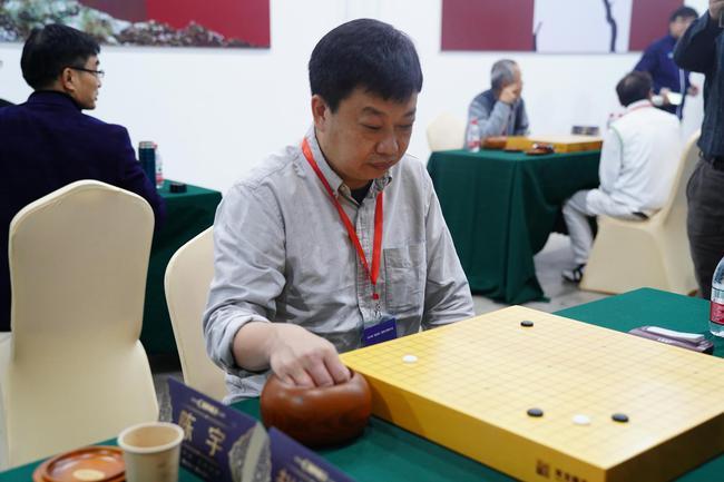 陈宇在比赛中