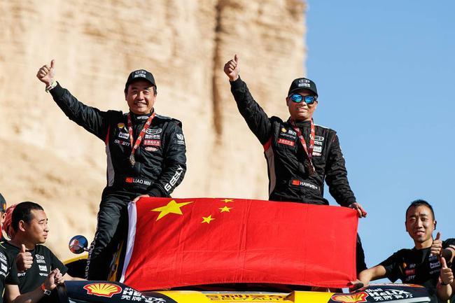 韩魏/廖岷获得汽车组总成绩第10创中国车手参赛以来最佳战绩