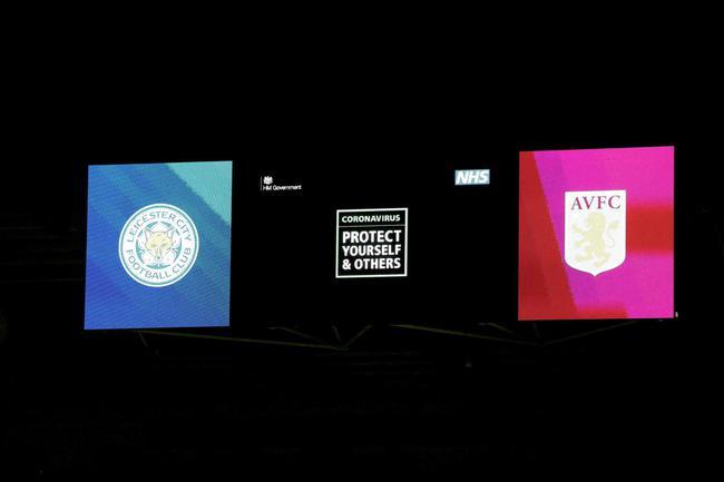 NHS赛前在大屏幕上的健康提醒