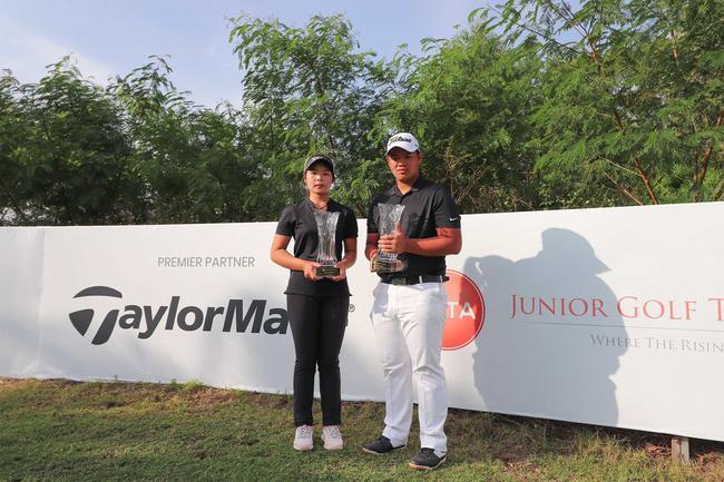 美国大学高尔夫的种子 亚洲青少年巡回赛奖项出炉