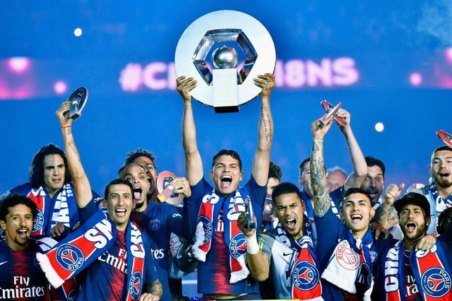 巴黎将夺得法甲冠军