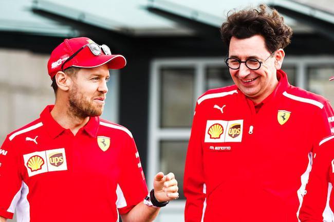 F1  比诺托:维特尔与法拉利的目标并不相同
