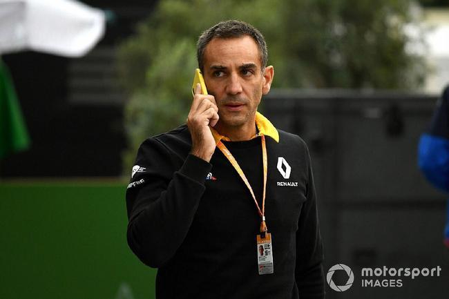 F1雷诺车队领队阿比托布尔